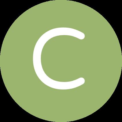 La lettre C.