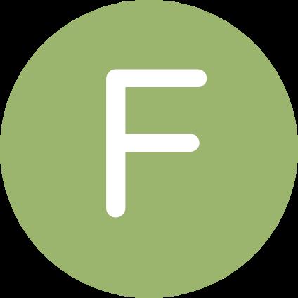 La lettre F.