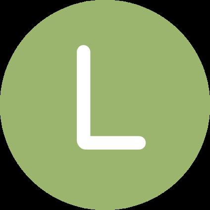 La lettre L.
