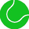 Illustration d'une balle de tennis verte.